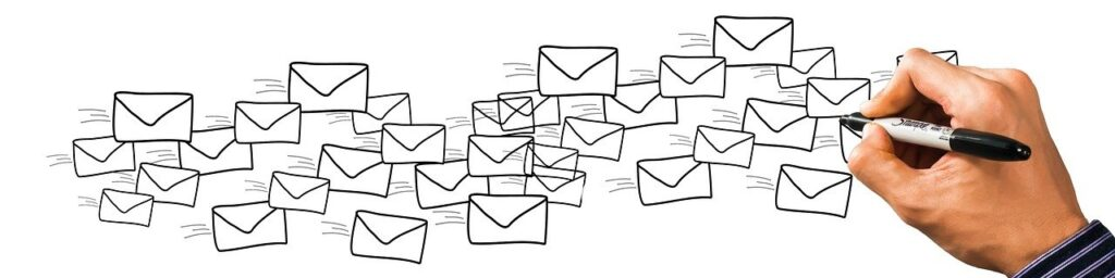 letters, email, mail